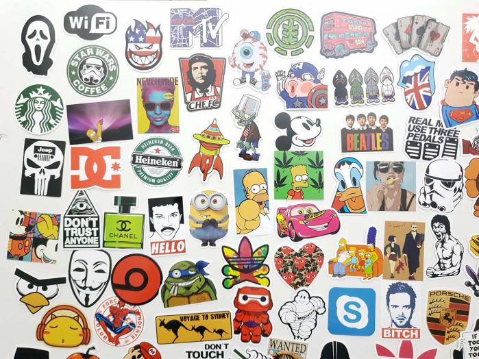 Set Stickere laptop Indraznete 3
