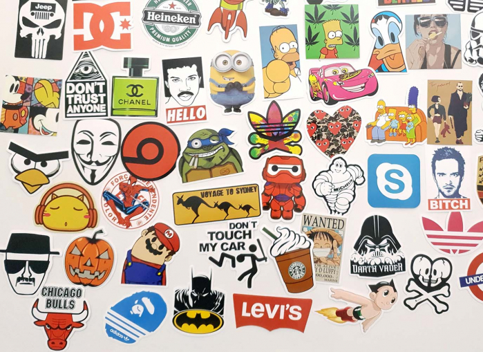 Set Stickere laptop Indraznete 5