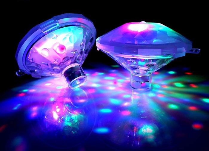 Set 2 Instalatii de lumini disco subacvatice 3