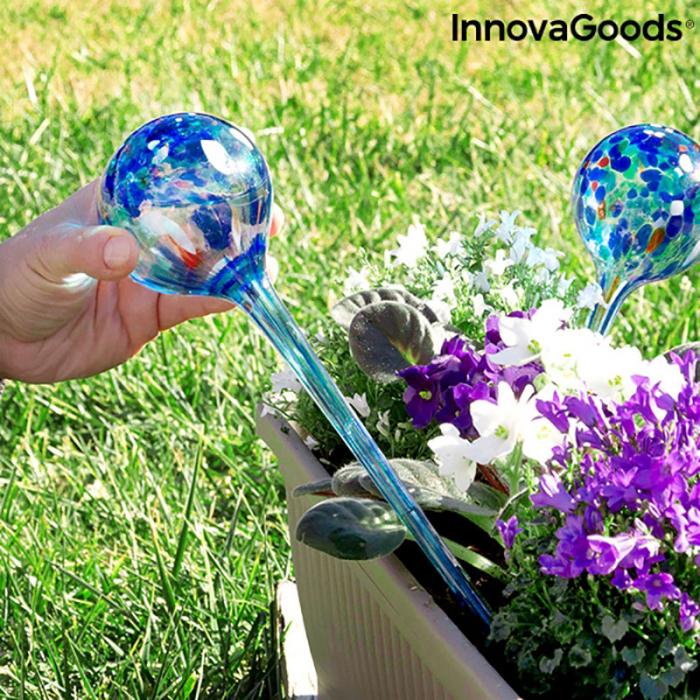 Set 2 Picuratoare Glob pentru ghivece cu flori 2