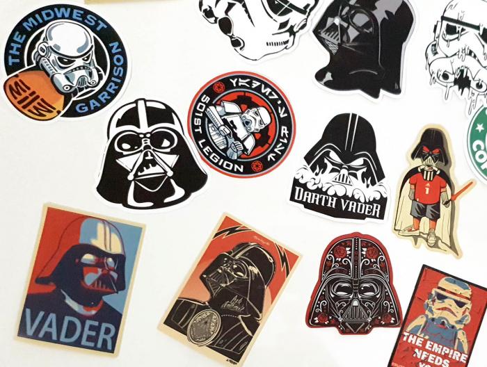 Set 25 stickere laptop Star Wars 3