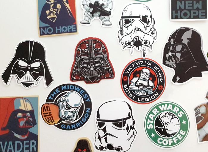 Set 25 stickere laptop Star Wars 2