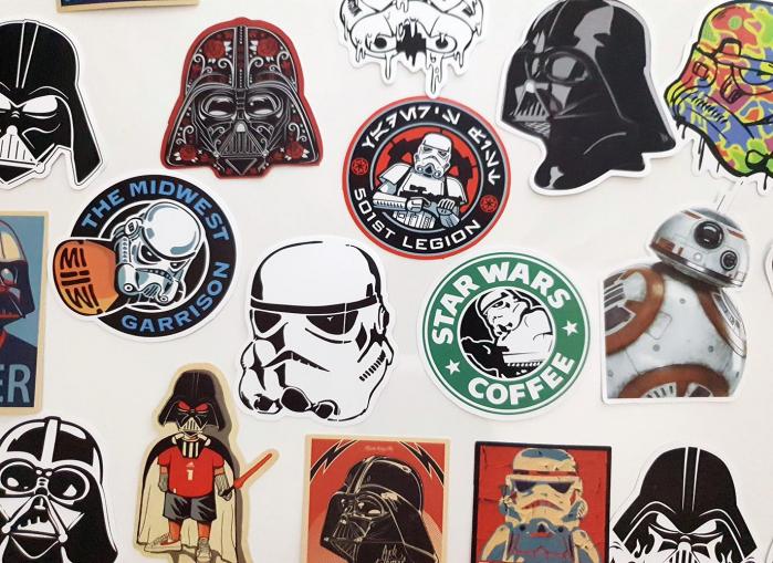 Set 25 stickere laptop Star Wars 1