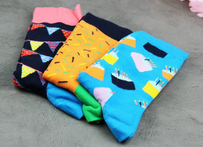 Set sosete Happy Socks Happy Birthday 0
