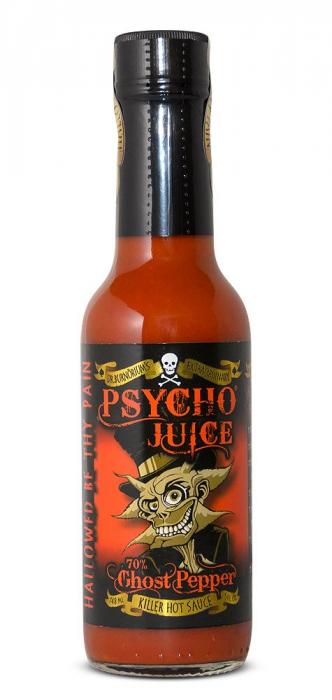 Sos iute Psycho Juice Extreme Ghost Pepper [iuteala 10+++]