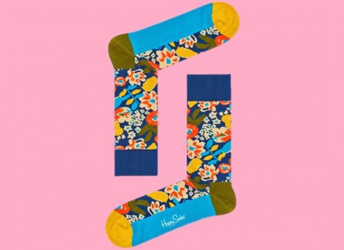 Sosete inalte cu flori Wiz Khalifa 2