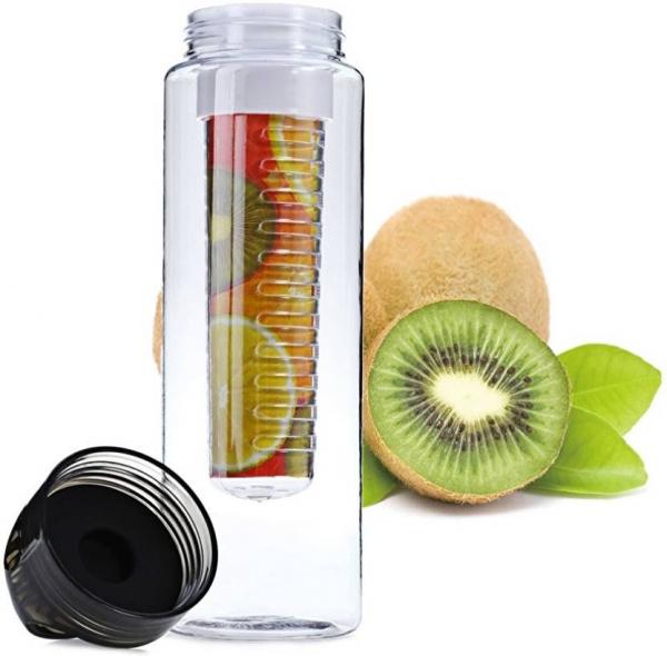 Sticla de apa cu infuzor de fructe