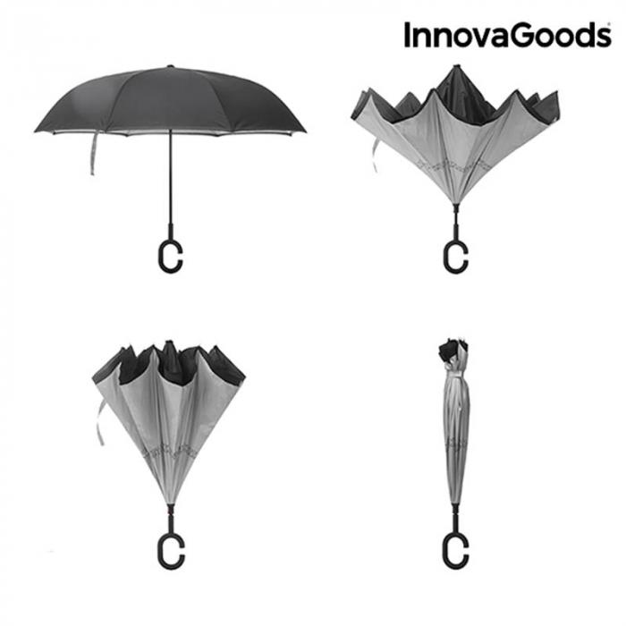 Umbrela cu pliere in sus 6