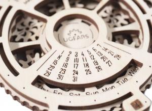 Calendar Steampunk din Lemn Ugears7