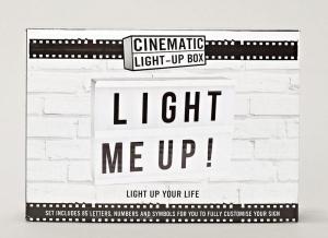 Caseta A5 Cinema Light Me Up!