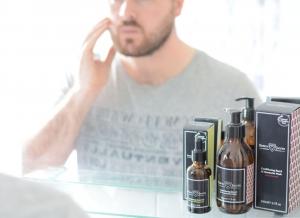 Gel pentru ingrijire barba si mustata Sandalwood, Edwin Jagger2