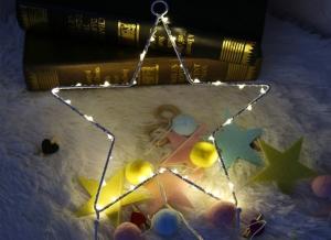 Ghirlanda LED Stea