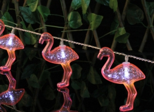 Instalatie de lumini Flamingo Roz6
