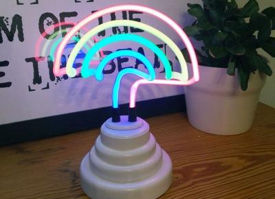 Lampa Neon Curcubeu0