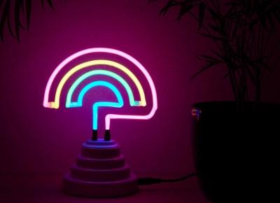 Lampa Neon Curcubeu9