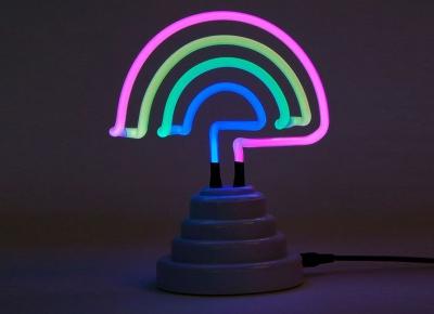 Lampa Neon Curcubeu10