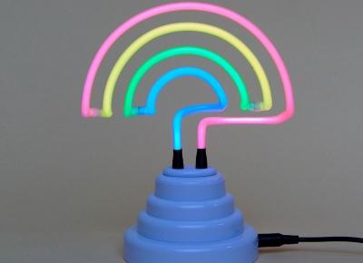Lampa Neon Curcubeu1