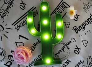 Lampa de Veghe LED Cactus1