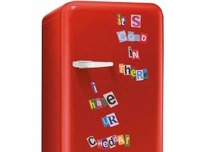 Litere magnetice frigider Fridge Bandits