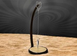Pendul din crom cu nisip1
