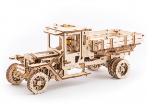 Puzzle 3D Camion Mecanic din Lemn Ugears