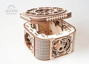 Puzzle 3D Cufar Comori - Model Mecanic din Lemn Ugears8