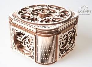 Puzzle 3D Cufar Comori - Model Mecanic din Lemn Ugears16
