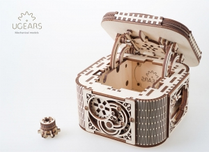 Puzzle 3D Cufar Comori - Model Mecanic din Lemn Ugears11