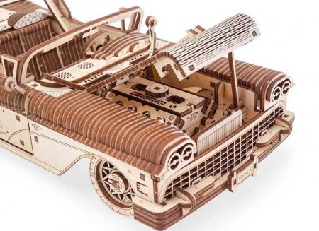 Puzzle 3D Dream Cabriolet VM-05 din lemn Ugears