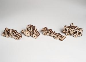 Puzzle 3D Fidget Vehicule din Lemn Ugears5