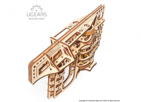 Puzzle 3D Flight Starter din lemn Ugears17