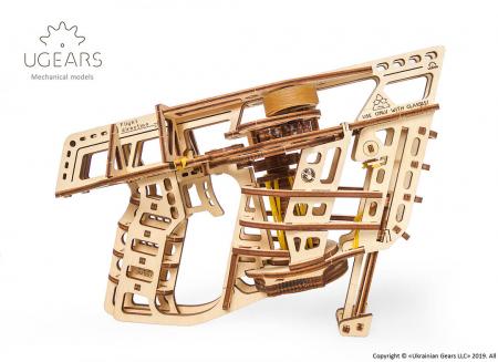 Puzzle 3D Flight Starter din lemn Ugears18