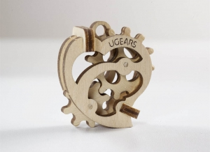 Puzzle 3D Fidget Tribiki din Lemn Ugears4