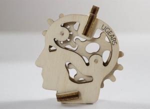 Puzzle 3D Fidget Tribiki din Lemn Ugears5