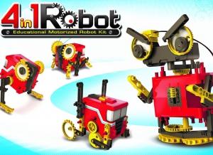 Robot educational motorizat 4 in 17