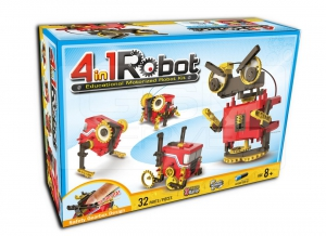 Robot educational motorizat 4 in 18