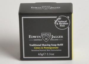 Sapun pentru barbierit Limes & Pomegranate 65G, Edwin Jagger2