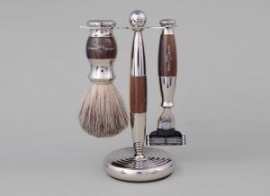 Set cadou barbati pentru barbierit 3 piese Light Horn Mach3, Edwin Jagger0