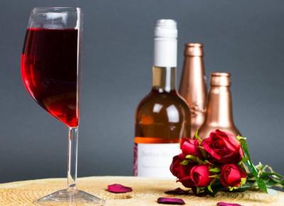 Set Doua Jumatati de Pahar de Vin
