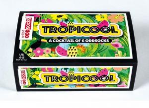 Set 6 Sosete cu Design Tropical