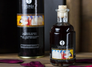 Ulei afrodisiac Shunga cu aroma de Ciocolata