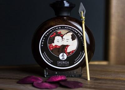Vopsea comestibila Shunga Body Paint