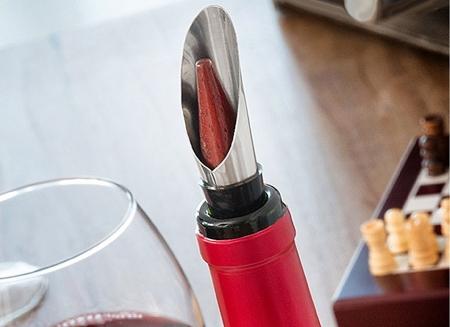 Caseta Deluxe de sah si accesorii pentru vin4