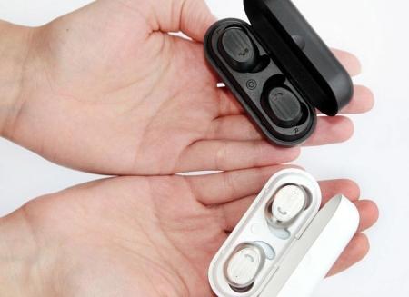 Casti true wireless Hi-Fi Elari NanoPods cu microfon si cutie incarcare
