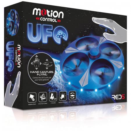Drona UFO cu senzor de miscare4