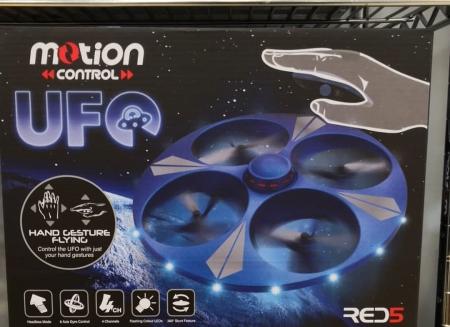 Drona UFO cu senzor de miscare3