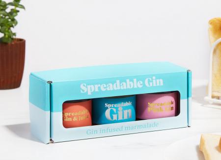 Gin tartinabil - pachet 3 arome0