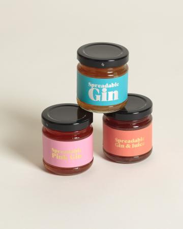 Gin tartinabil - pachet 3 arome4