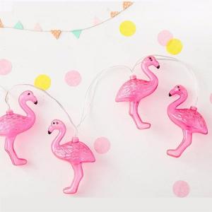 Instalatie de lumini Flamingo Roz10