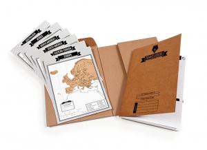Jurnal de voiaj Travelogue cu harti razuibile8